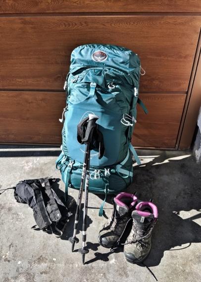 Not a lightweight backpacker.